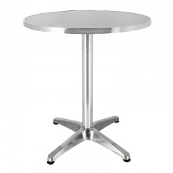 TABLE BRUXELLES ALUMINIUM Ø60