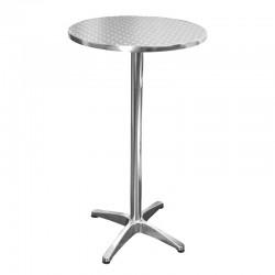 TABLE MANGE DEBOUT BRUXELLES ALUMINIUM Ø60