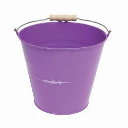 SEAU METAL VIOLET TENTATION ROND GM
