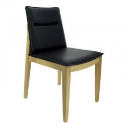 CHAISE STOCKHOLM HETRE SIMILI CUIR