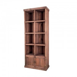 MEUBLE PRESENTOIR PIN 8 CASES 2PORTES MADERA