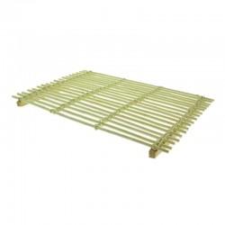 TABLETTE PLASTIC NOIR 40X30X9 SHOWLINE