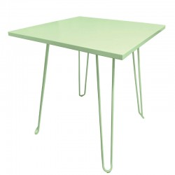 TABLE CARREE BISCAROSSE