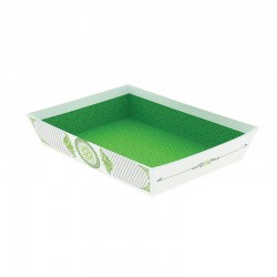 CORBEILLE CARTON RECTANGLE PRINTEMPS PM 27X20X5