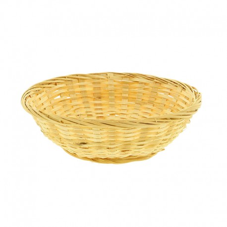 CORBEILLE BAMBOU CHINE RONDE MM