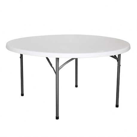 TABLE RONDE HDPE NIMES Ø150X74