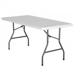 TABLE RECTANGLE HDPE NIMES 152X76X74