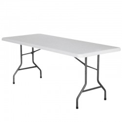 TABLE RECTANGLE HDPE NIMES 183X76X74