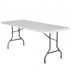 TABLE RECTANGLE HDPE NIMES 183X76X74