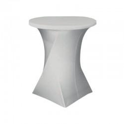 HOUSSE TABLE RONDE NIMES Ø80X110